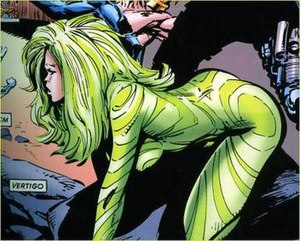 Vertigo (Marvel Comics) - Vertigo. Art by Marc Silvestri.