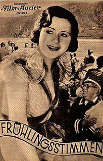 <i>Voices of Spring</i> (1933 film) 1933 film by Paul Fejos