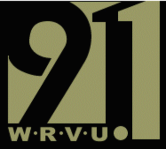 WRVU - WRVU's logo when it was previously located at the Frequency of 91.1 MHz.