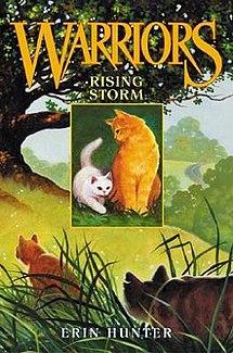 <i>Rising Storm</i> (novel) book by Erin Hunter