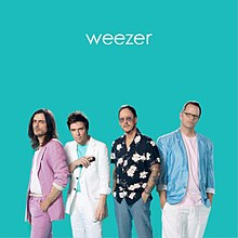Weezer Christmas Sweater.Weezer Teal Album Wikipedia