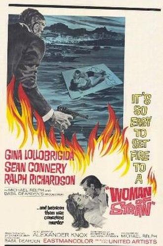 Woman of Straw - original movie poster