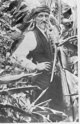 Clement Lindley Wragge - Wragge in his later years in the gardens at Birkenhead