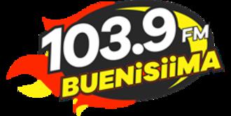 XHPO-FM - Image: XHPO 103.9BUENISIIMA logo