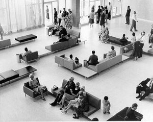 Halifax Stanfield International Airport - The airport terminal soon after construction in 1960
