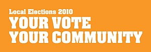 New Zealand local elections, 2010 - Logo used for promotion of the local body elections.