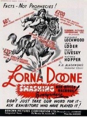 "Lorna Doone (1934 film) - Image: ""Lorna Doone"" (1934)"