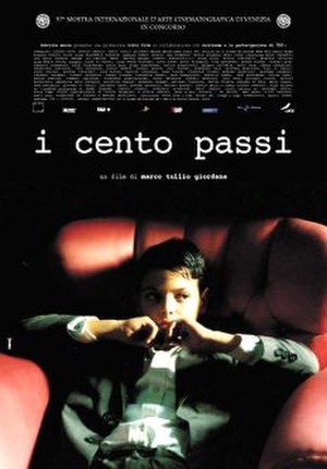 One Hundred Steps - Original Movie Poster for I cento passi