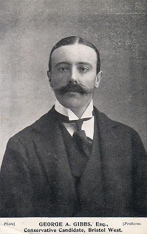 George Gibbs, 1st Baron Wraxall - Gibbs in 1906