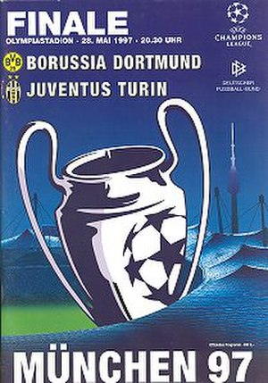 1997 UEFA Champions League Final - Image: 1997 UEFA Champions League Final programme