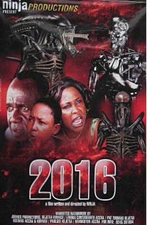 2016 (2010 film) - Promotional release poster