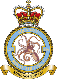 No. 206 Squadron RAF Flying squadron of the Royal Air Force