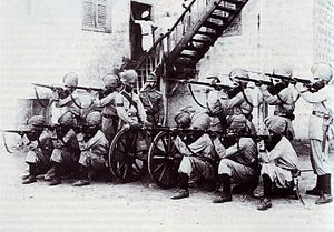 35th Sikhs - Image: 35th Sikhs in the Soudan, 1896, Maxim Guns