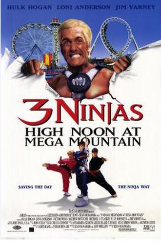 3 Ninjas: High Noon at Mega Mountain - Theatrical release poster
