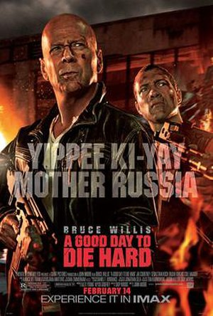 A Good Day to Die Hard - Theatrical release poster