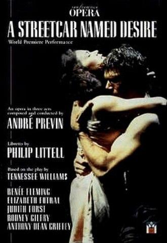 A Streetcar Named Desire (opera) - A Streetcar Named Desire – DVD cover of original production