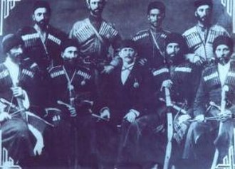History of Abkhazia - Abkhaz delegation in Tbilisi, 1918