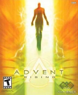 Advent Rising - North American cover art