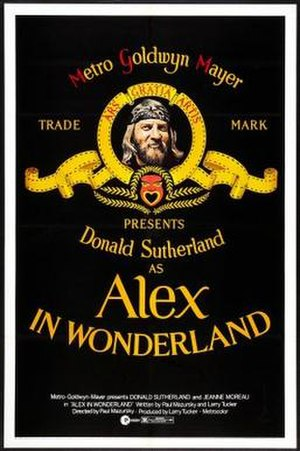 Alex in Wonderland - Theatrical release poster