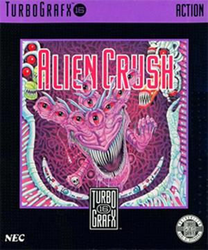 Alien Crush - Cover art