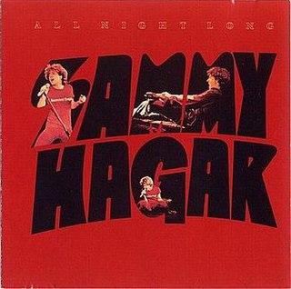 <i>All Night Long</i> (Sammy Hagar album) 1978 live album by Sammy Hagar