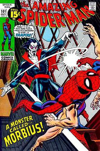Morbius, the Living Vampire - Image: Amazing Spidy 101