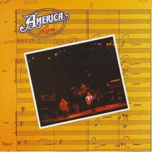America Live (album) - Image: America live cover art