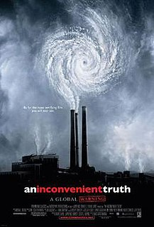<i>An Inconvenient Truth</i> 2006 documentary film on Al Gores campaign to raise awareness for global warming directed by Davis Guggenheim