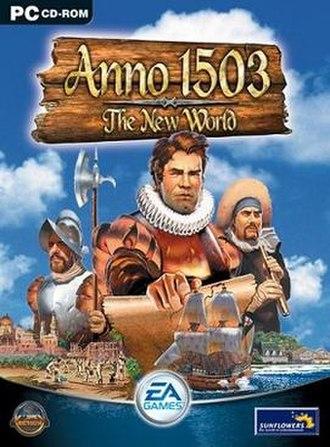 Anno 1503 - Image: Anno 1503 cover