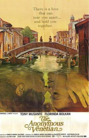 The Anonymous Venetian (film) - Theatrical release poster