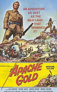 <i>Apache Gold</i> 1963 film by Harald Reinl