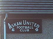 Askam United football club.