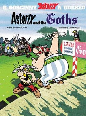 Asterix and the Goths - Cover of the English edition