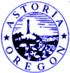 Official seal of Astoria, Oregon
