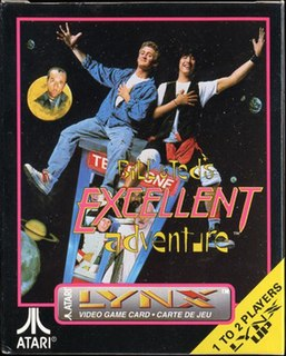 <i>Bill & Teds Excellent Adventure</i> (1991 video game)