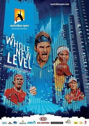 2011 Australian Open - Image: Australian Open Poster 2011