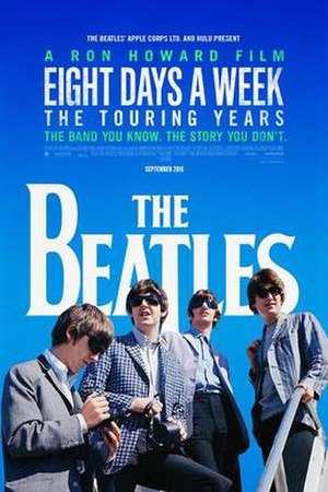 The Beatles: Eight Days a Week - Theatrical release poster