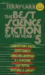 <i>The Best Science Fiction of the Year 5</i> book by Terry Carr
