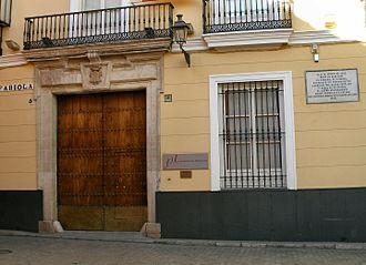 Nicholas Wiseman - Birthplace of Cardinal Wiseman, 5 Calle Fabiola, Seville, Spain