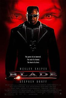 <i>Blade</i> (film) 1998 film by Stephen Norrington