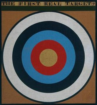 Peter Blake (artist) - The First Real Target, 1961, Tate Gallery