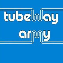 The original 1978 Blue Album cover art for Tubeway Army, resurrected in 2004 for a Japanese reissue