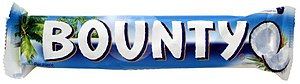 Bounty (chocolate bar) - A Bounty bar