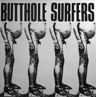 Butthole Surfers (EP) - Image: Butthole Surfers Front