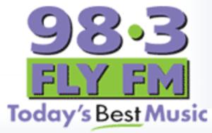 CFLY-FM - Image: CFLY FM 98 3 Fly radio logo