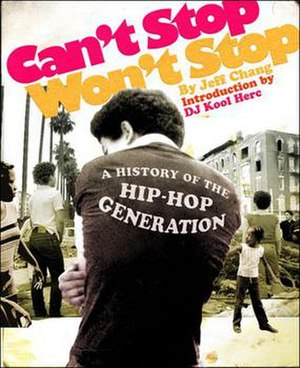 Can't Stop Won't Stop (book) - Image: Can't Stop Won't Stop