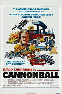 <i>Cannonball</i> (film) 1976 film by Paul Bartel
