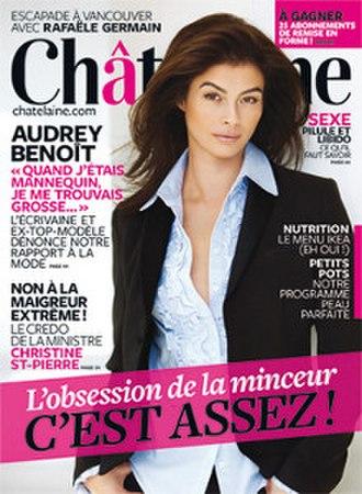 Châtelaine - Image: Châtelaine (magazine) cover