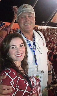 Charley Hannah at the 2013 BCS National Championship.jpg