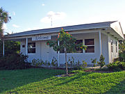 The Museum of Coral Springs History started as a real estate office